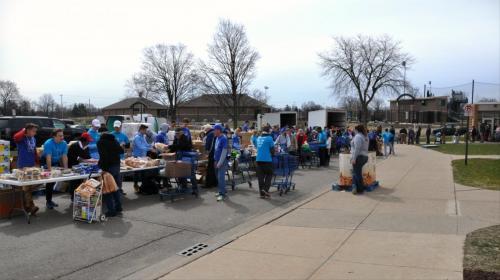 cacs food line distribution